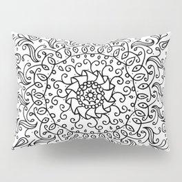 Spring mandala Pillow Sham