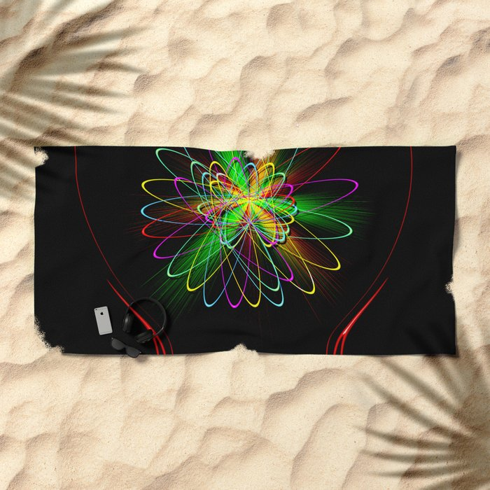 Abstract Perfection 56 Beach Towel