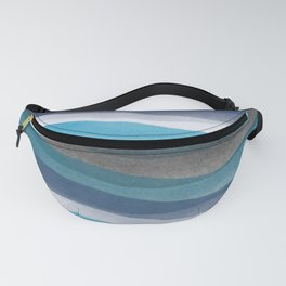 Blue lines Fanny Pack