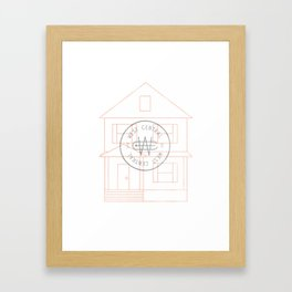 West Central Framed Art Print
