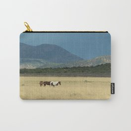 Horses in Field in Utah Carry-All Pouch