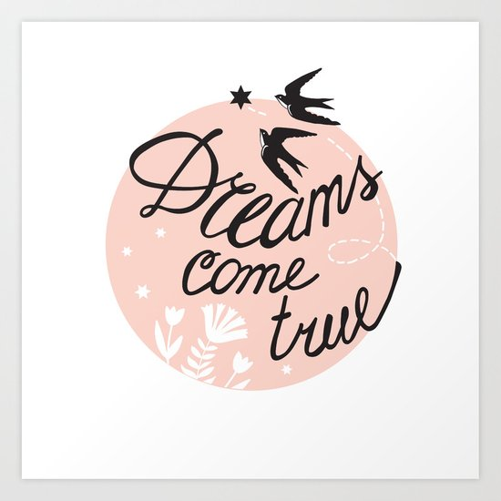 Dreams come true for two Art Print