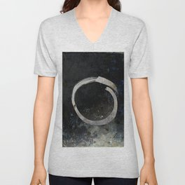 Enso #5 - Ghost Unisex V-Neck