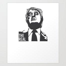 Anti Trump National Emergency design - Trump Protest Tee Art Print