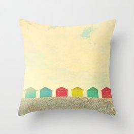 Beachfront Throw Pillow