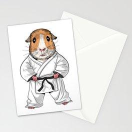 Guinea Pig Karate Stationery Cards