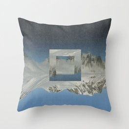 Magdalenefjord Throw Pillow