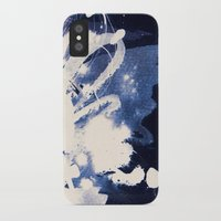 fear iPhone & iPod Cases featuring Fear by Holly Sharpe