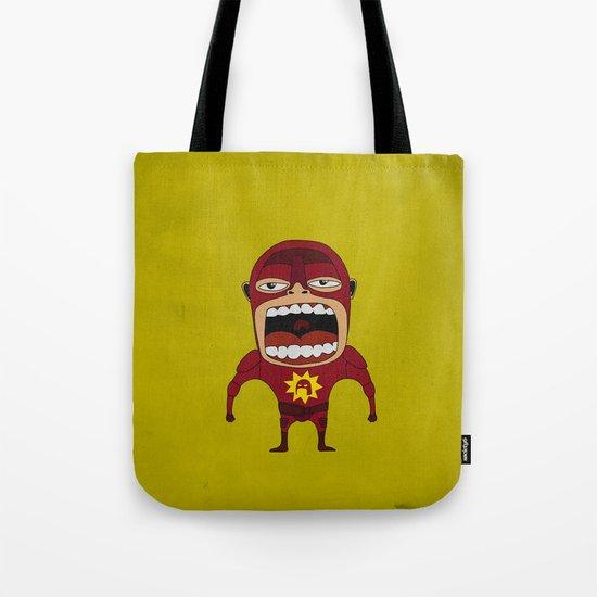 Screaming Crimson Bolt Tote Bag