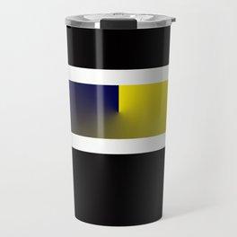 Team Colors 3...navy,yellow Travel Mug