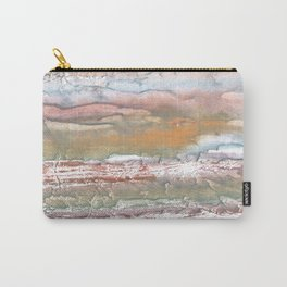 Rosy brown blurred watercolor picture Carry-All Pouch