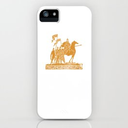 Caesar Funny Quotes Roman Motivational Saying Rome We Came We Saw We Kicked Its Ass Funny Gift iPhone Case