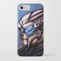 garrus iPhone & iPod Cases featuring Garrus by Vaahlkult