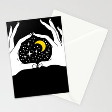 I heart the moon Stationery Cards