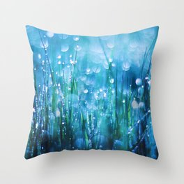 Crystals of Life Throw Pillow