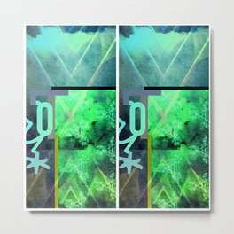 Double banger Metal Print