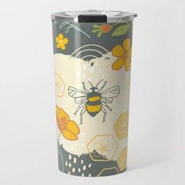 Little Bee and Buttercups Travel Mug