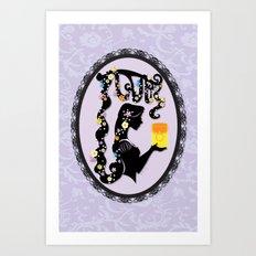 I See the Light Art Print