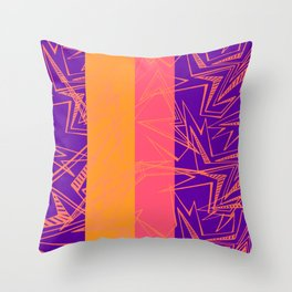 Raios Throw Pillow