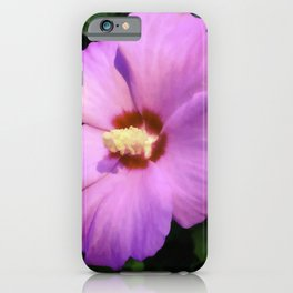 Rose OF Sharon In Mid Summer iPhone Case