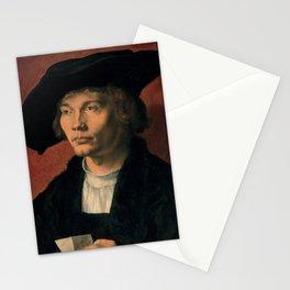 Albrecht Dürer - Portrait of Bernhard von Reesen (1521) Stationery Cards