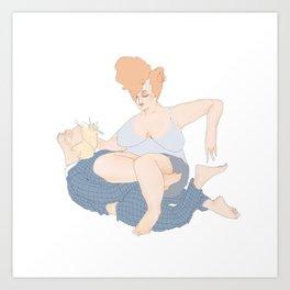 The Patron by Blood Bath Cards Art Print
