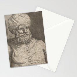 Agostino dei Musi - Barbarossa, Khair-ed-Din.jpg Stationery Cards