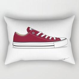 All Star Red  Rectangular Pillow