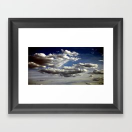 Cloud Formations Framed Art Print