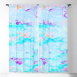 Candy Rush #abstract Blackout Curtain