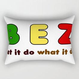 B E Z Rectangular Pillow