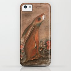 Hare and Moon iPhone 5c Slim Case