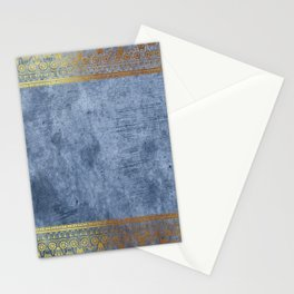Blue Egypt Stationery Cards