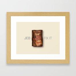 Jeb .2 Framed Art Print