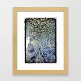 Fanta Seas: Fathom Framed Art Print
