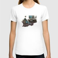 inside gaming T-shirts featuring Pixel Gaming by Steven Kaule
