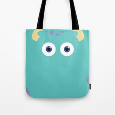 PIXAR CHARACTER POSTER - Sulley 2- Monsters, Inc. Tote Bag