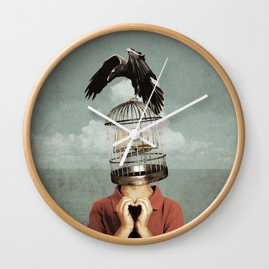 metaphorical assistance Wall Clock