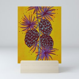 Seed Pods - Pinecones Mini Art Print