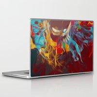 jack nicholson Laptop & iPad Skins featuring jack nicholson  by zarna