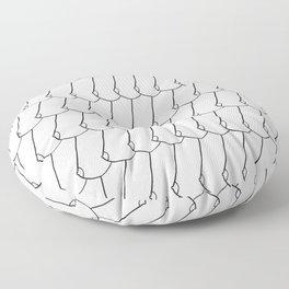 side boob Floor Pillow