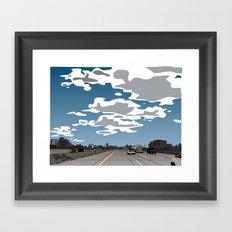 The 405 Framed Art Print