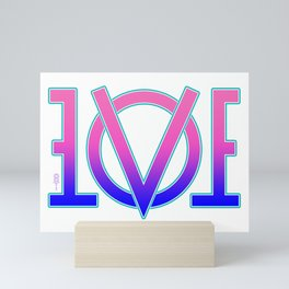 """Lovemirror"" Mini Art Print"