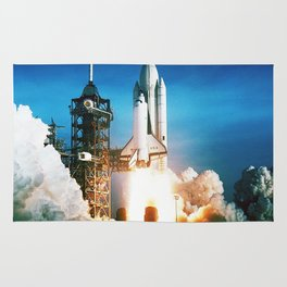 Space Shuttle Launch Rug