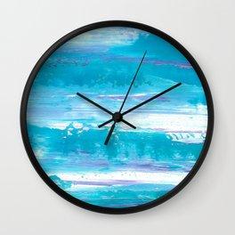 Blue Skies Wall Clock
