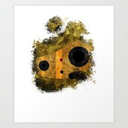 laputa: castle in the sky robot guardian Art Print