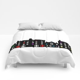 Victorian Facades Comforters