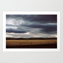 CROWSNEST PASS Art Print