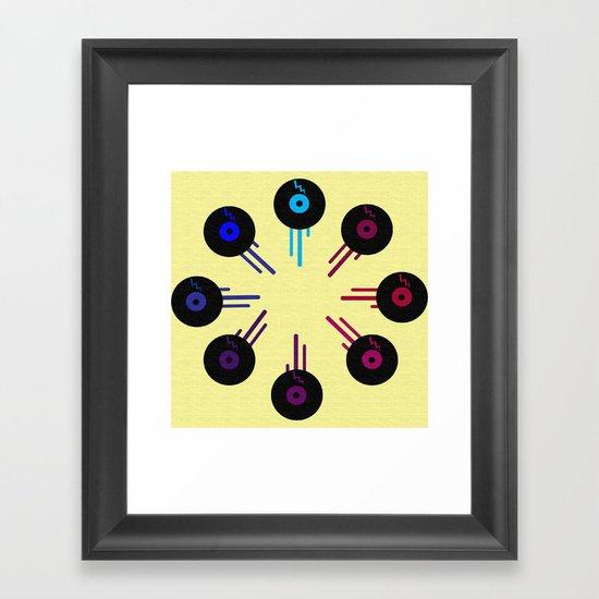 KolorofSound Framed Art Print