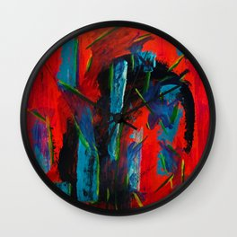 Tame Before the Storm Wall Clock